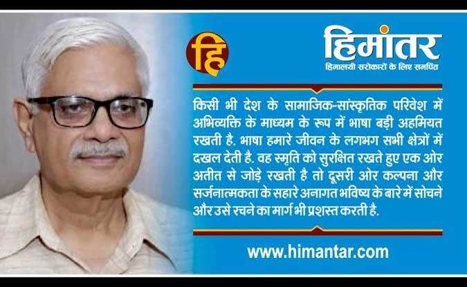 हिंदी की स्थिति, गति और उपस्थिति