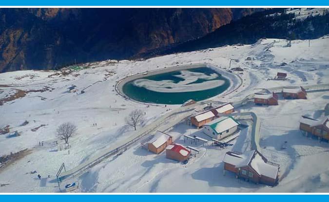 सर्दियों के इस मौसम में पर्यटकों के स्वागत को तैयार है औली