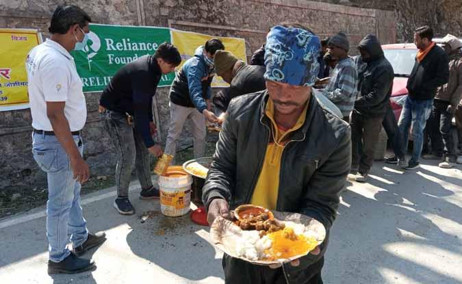ऋषिगंगा आपदा : 12 दिन में 3000 लोगों को कराया भोजन