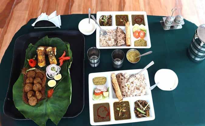 सोनप्रयाग का 'पहाड़ी किचन' यानी आर्गेनिक उत्पादों से बने खाने का जायका