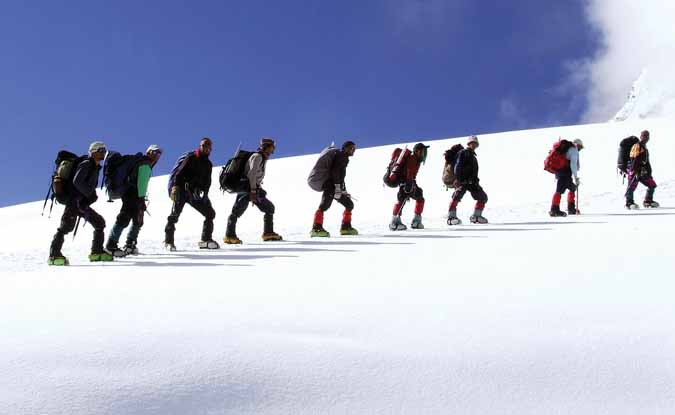 पर्वतारोहण और ट्रैकिंग से स्वरोजगार की पहल…