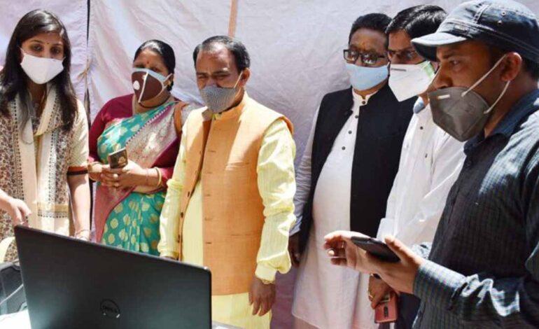 मुख्यमंत्री ने किया ऑक्सीजन जनरेशन प्लांट का वर्चुअल उद्घाटन