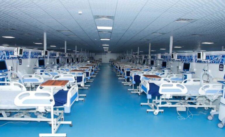 DRDO ने हल्द्वानी मेंतीन हफ्ते में तैयार किया 500 बेड का 'जनरल बीसी जोशी कोविड केयर सेंटर'