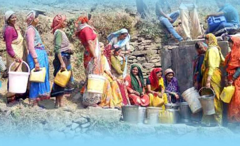 उत्तराखंड के पर्वतीय क्षेत्रों में जल उपलब्धता का संकट और संभावित निदान!